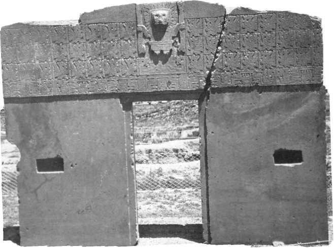 Tiwanaku Tiahuanaco El Sistema Ideografico De La Puerta